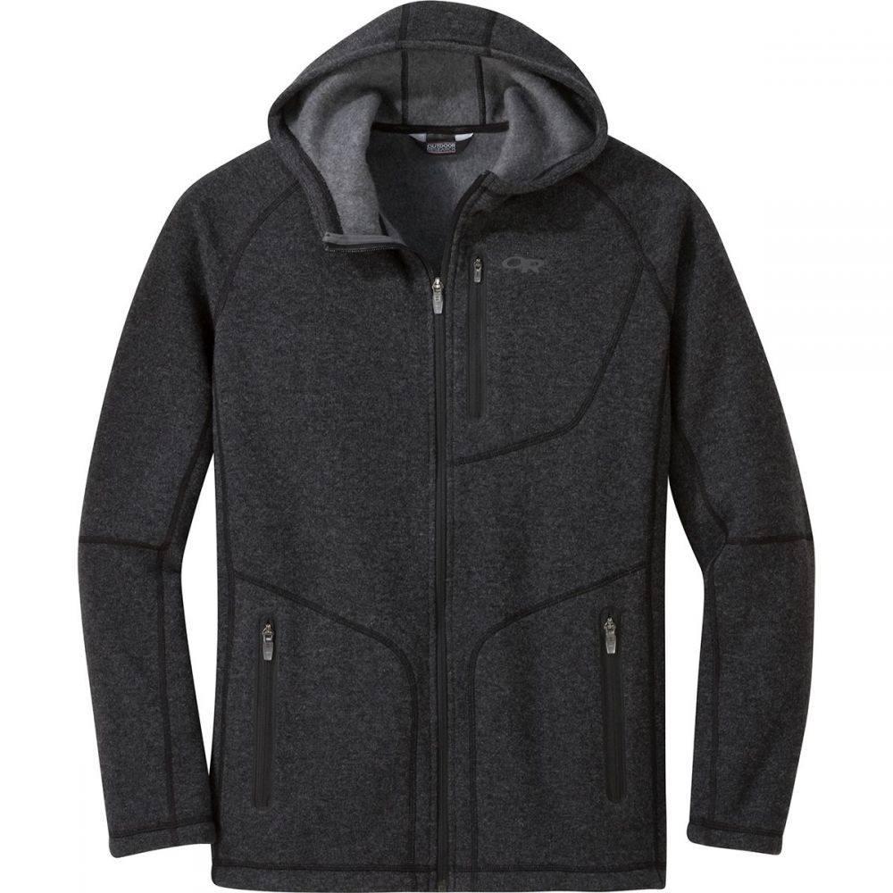 アウトドアリサーチ Outdoor Research メンズ トップス フリース【Vashon Fleece Full - Zip Jackets】Charcoal Heather