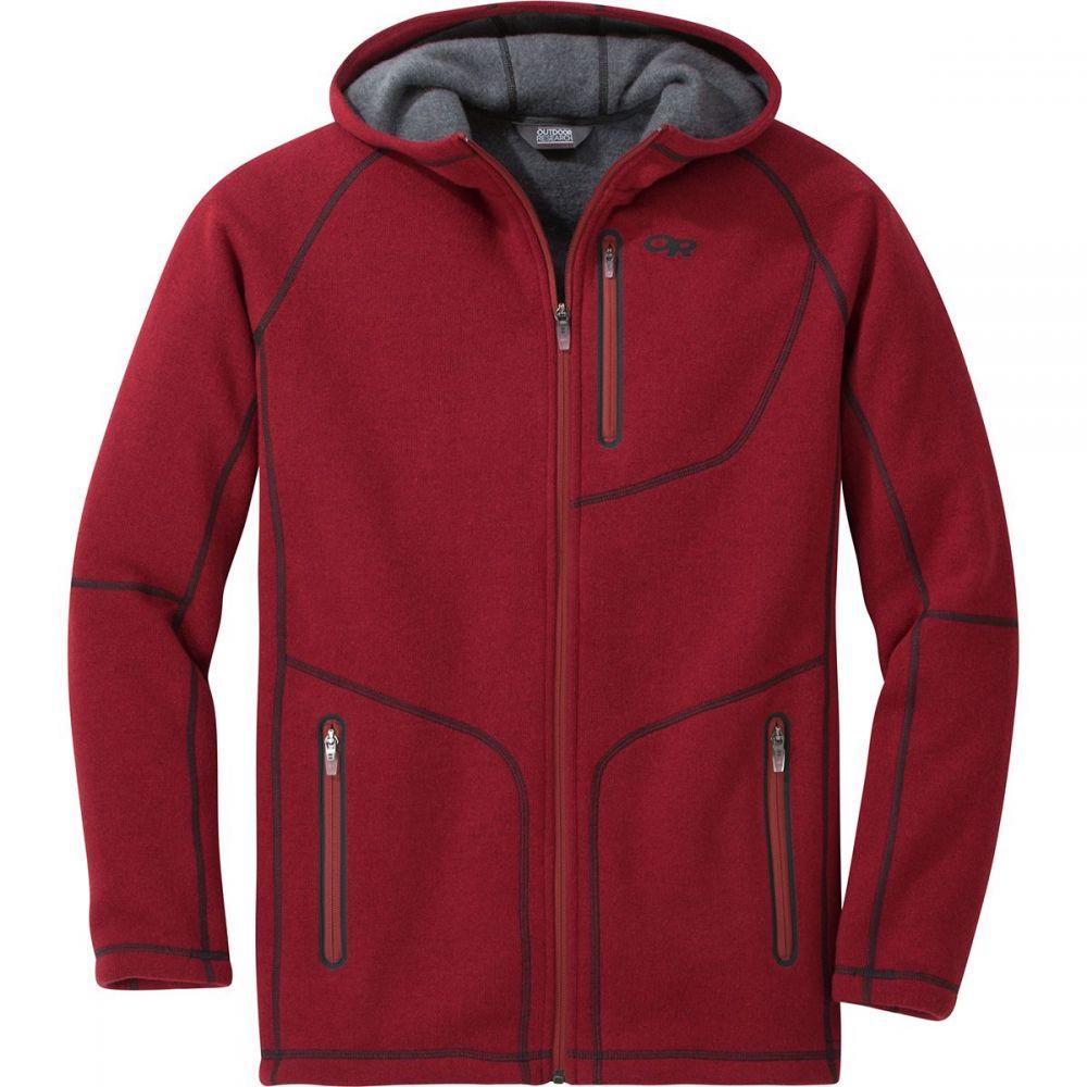 アウトドアリサーチ Outdoor Research メンズ トップス フリース【Vashon Fleece Full - Zip Jackets】Firebrick