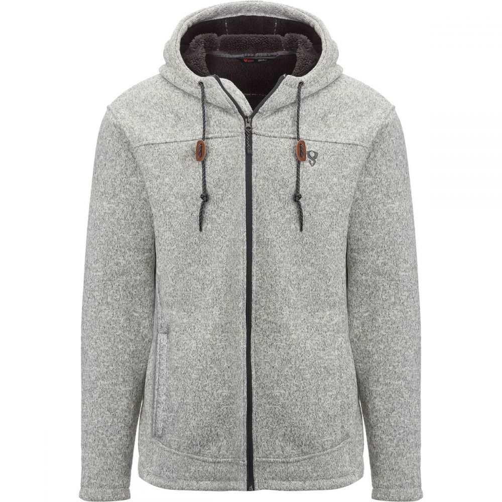 ストイック Stoic メンズ トップス フリース【Sherpa Lined Sweater Fleece Jackets】Pumice Grey