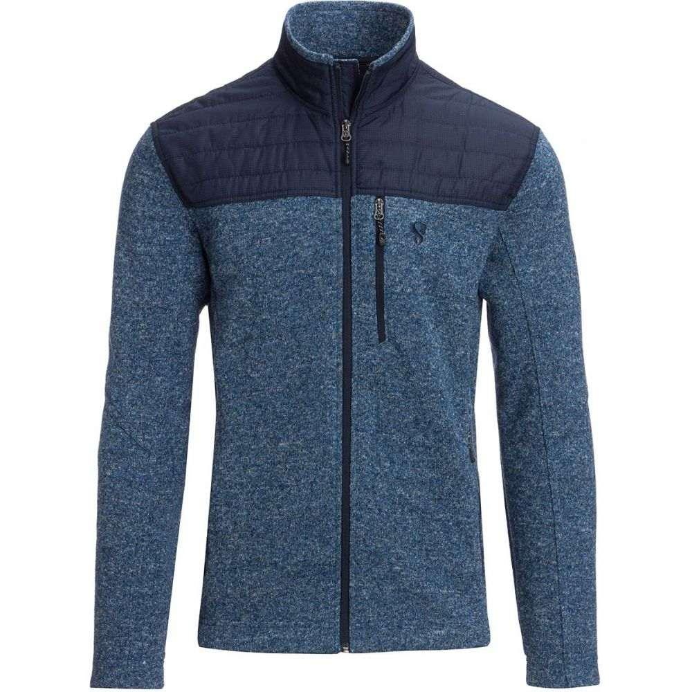 ストイック Stoic メンズ トップス フリース【Nylon Yoke Sweater Fleece Jackets】Newport Blue