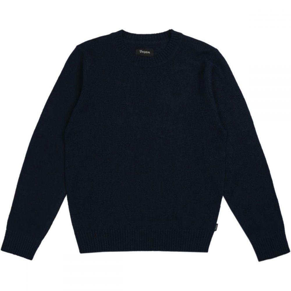 ブリクストン Brixton メンズ トップス ニット・セーター【Wes Sweaters】Navy