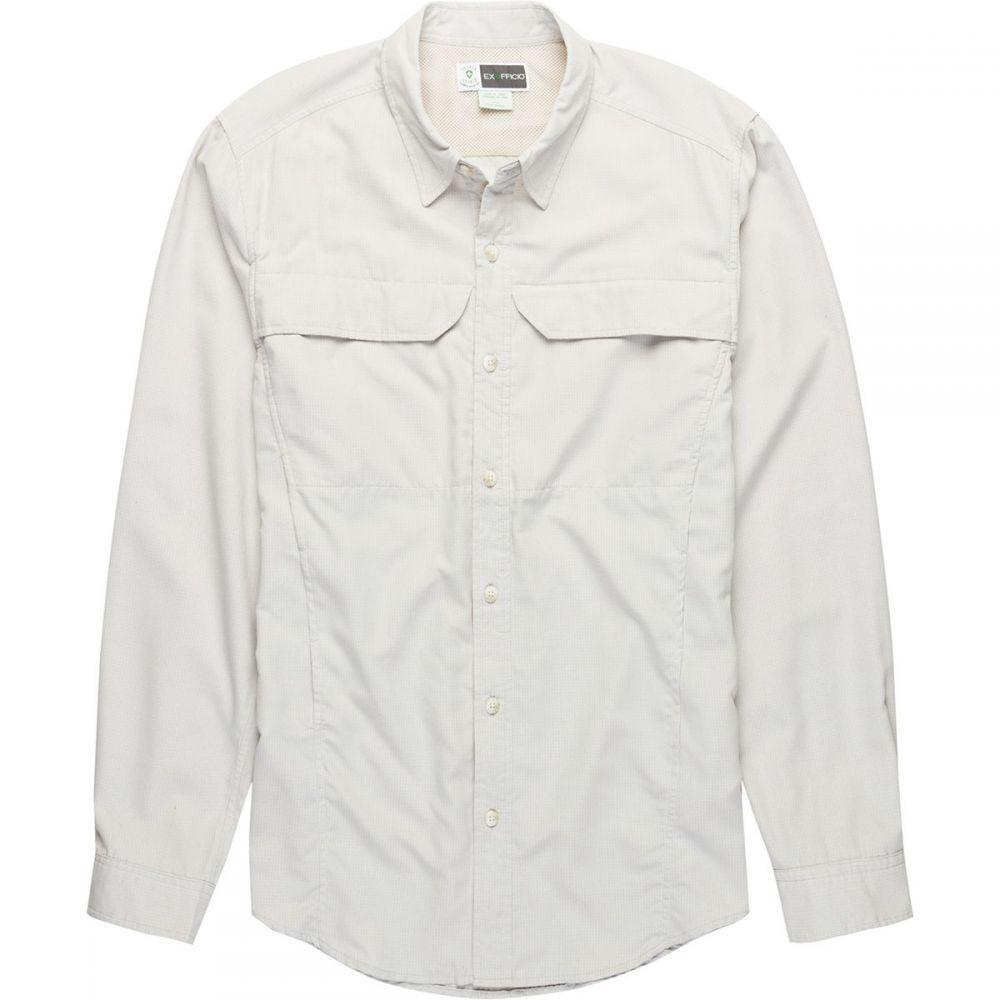 エクスオフィシオ ExOfficio メンズ トップス シャツ【BugsAway Viento Shirts】Bone