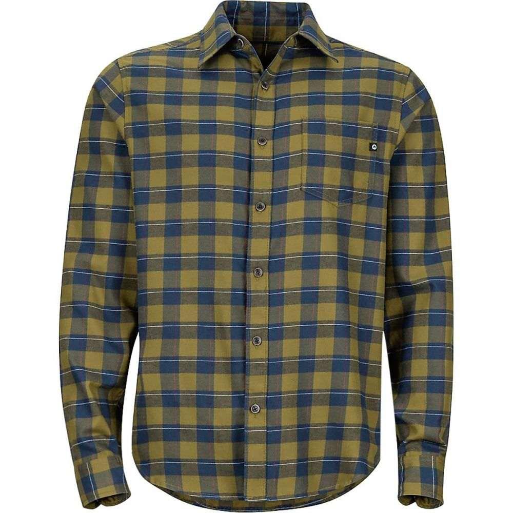 マーモット Marmot メンズ トップス シャツ【Bodega Lightweight Flannel Shirts】Fir Green