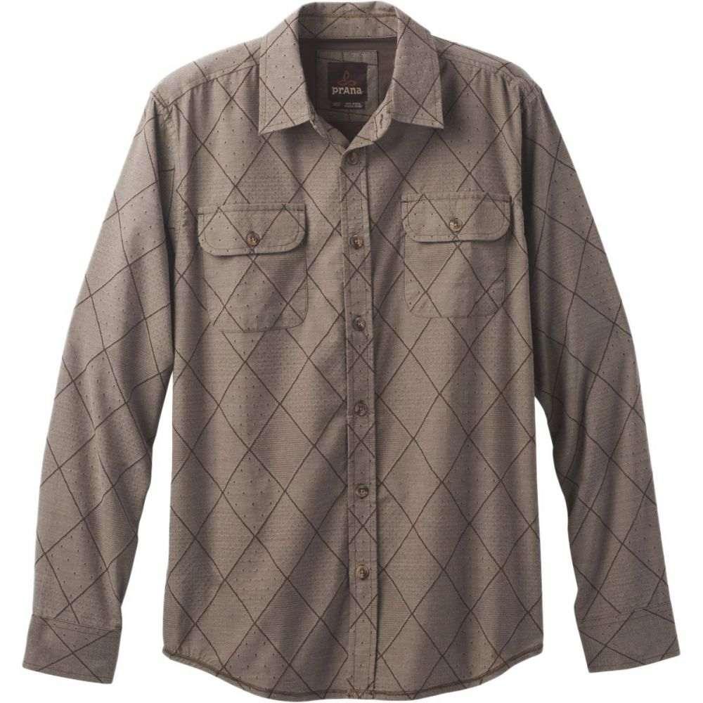 プラーナ Prana メンズ トップス シャツ【Rennin Shirts】Brown