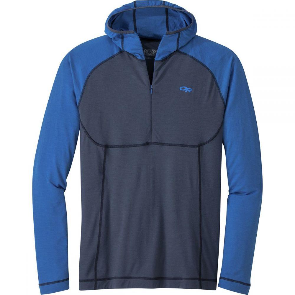 アウトドアリサーチ Outdoor Research メンズ トップス パーカー【Alpine Onset Hooded Tops】Naval Blue/Cobalt