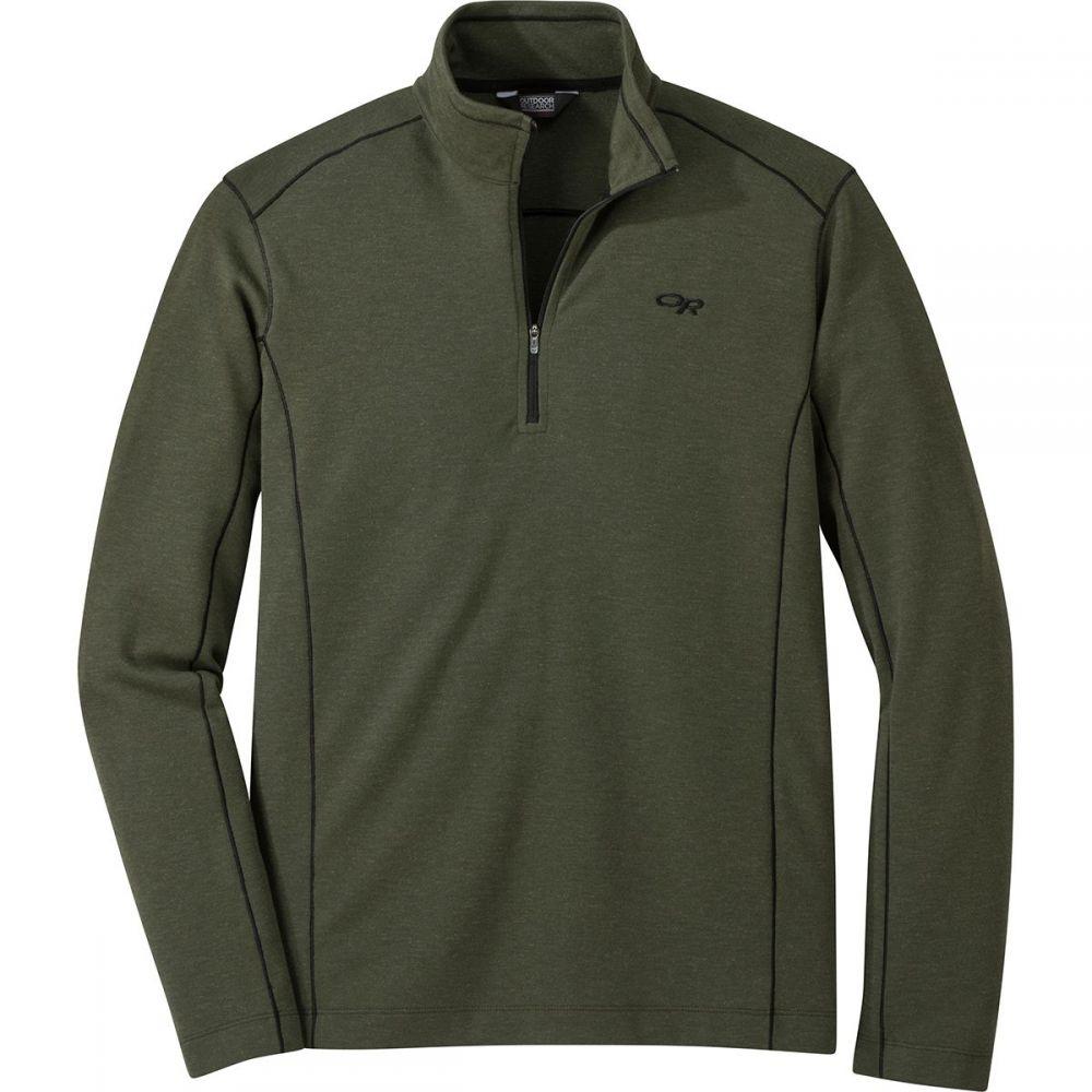 アウトドアリサーチ Outdoor Research メンズ トップス ニット・セーター【Blackridge 1/4 - Zip Sweaters】Juniper