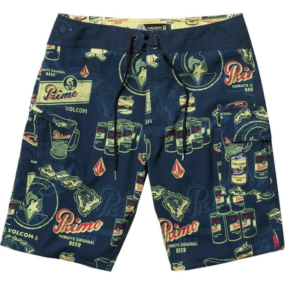 ボルコム Volcom メンズ 水着・ビーチウェア 海パン【Primo Beer Mod 20in Board Shorts】Navy