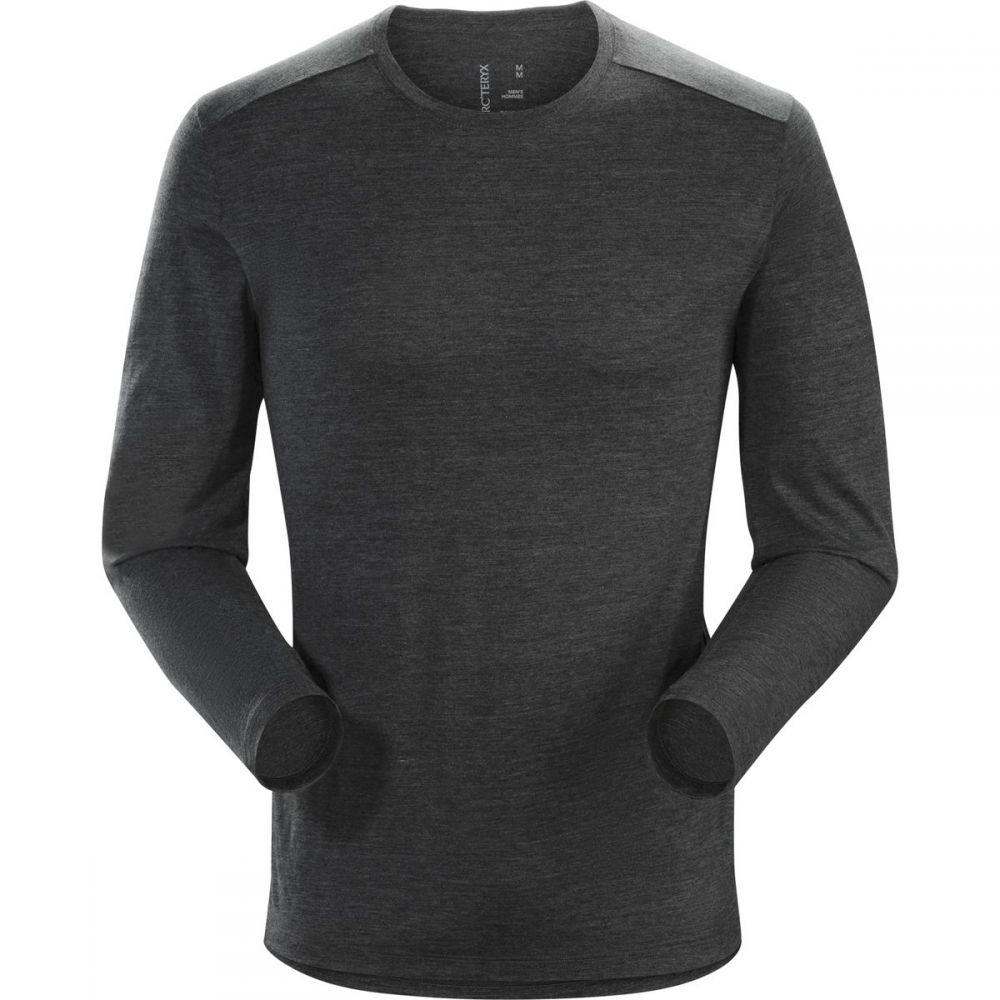 アークテリクス Arc'teryx メンズ トップス 長袖Tシャツ【A2B Crew - Long - Sleeves】Black Heather