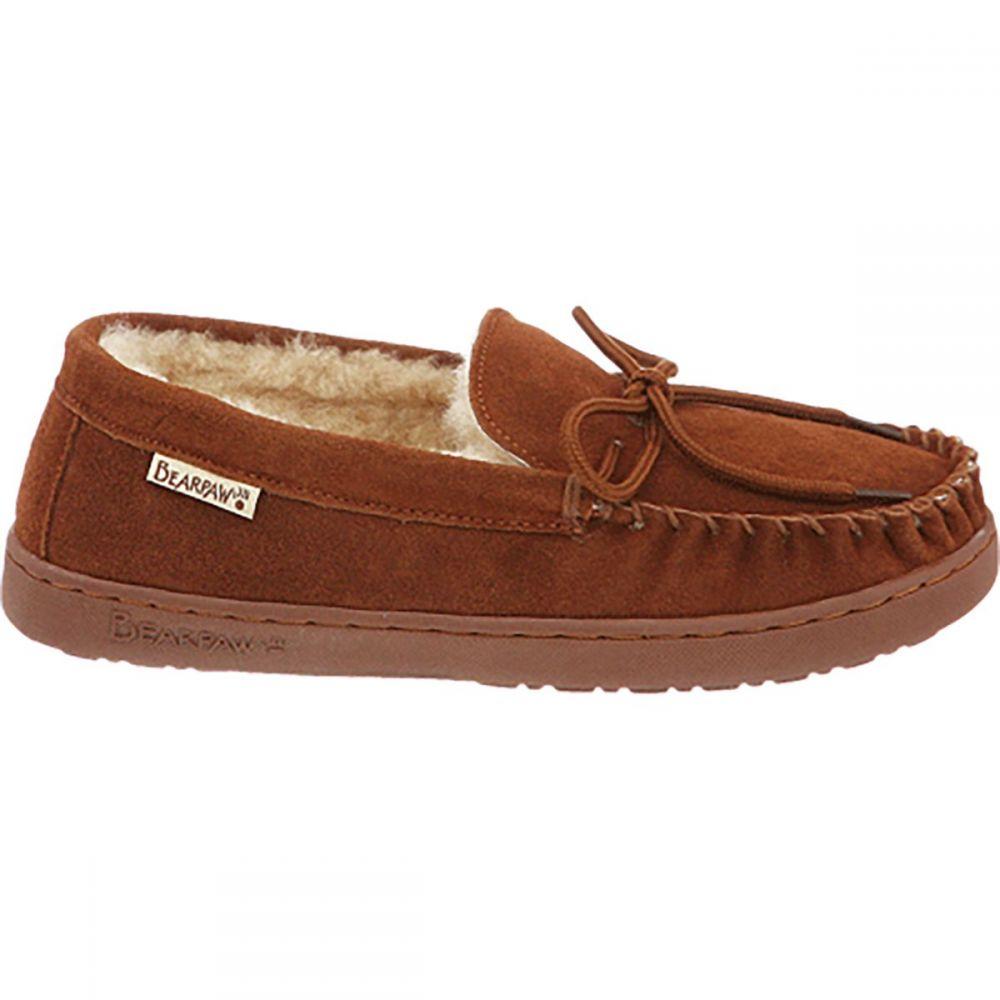 ベアパウ Bearpaw メンズ シューズ・靴 スリッパ【Moc II Slippers】Hickory Suede