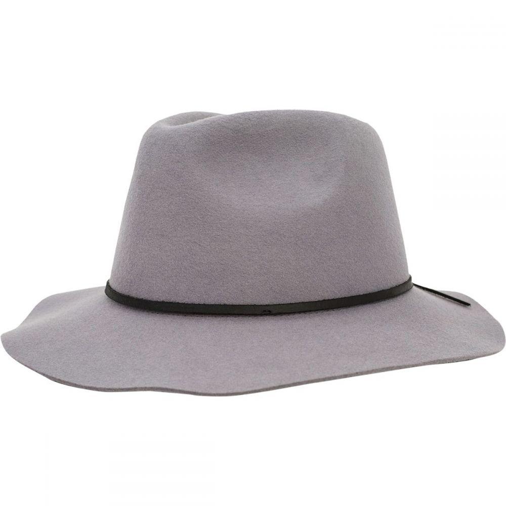 ブリクストン Brixton メンズ 帽子 ハット【Wesley Fedora】Grey