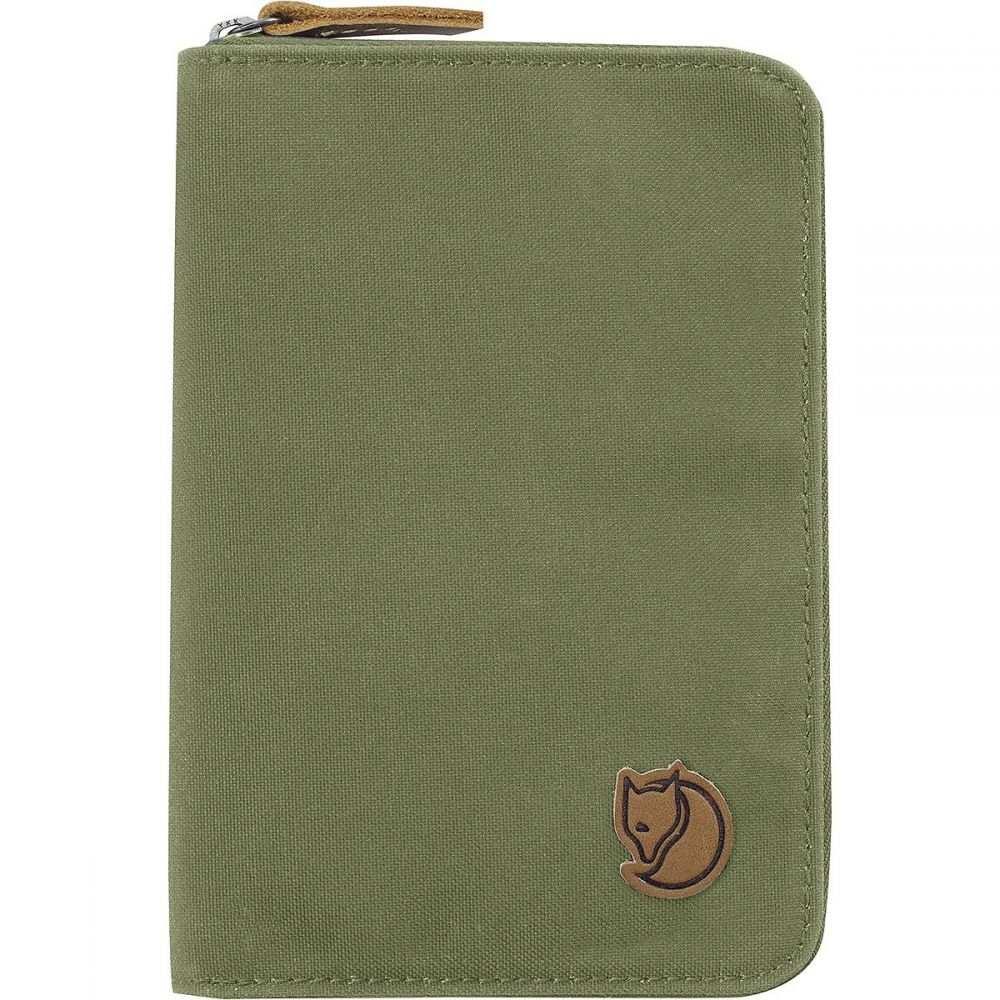 フェールラーベン Fjallraven レディース パスポートケース【Passport Wallet】Green