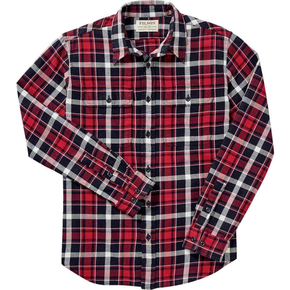 フィルソン Filson メンズ トップス シャツ【Scout Shirts】Red/Black/White