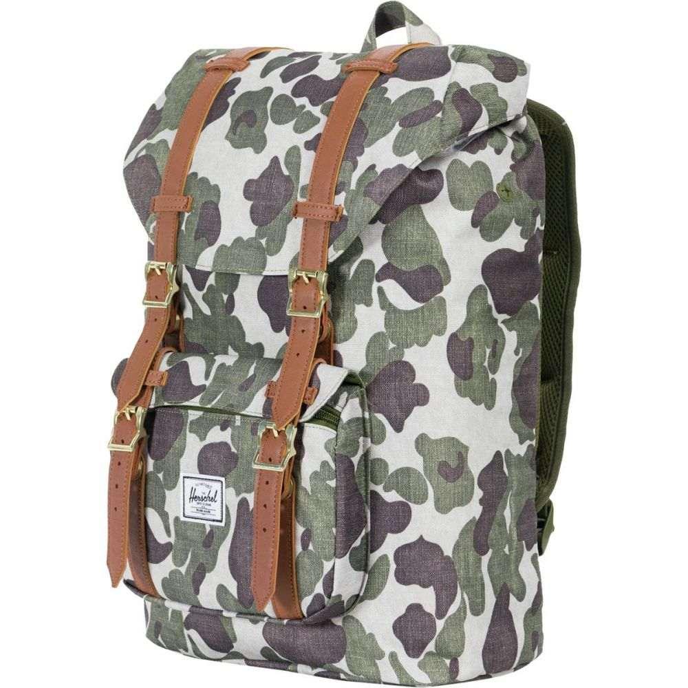 ハーシェル サプライ Herschel Supply レディース バッグ バックパック・リュック【Little America Mid - Volume 17L Backpack】Frog Camo/Tan