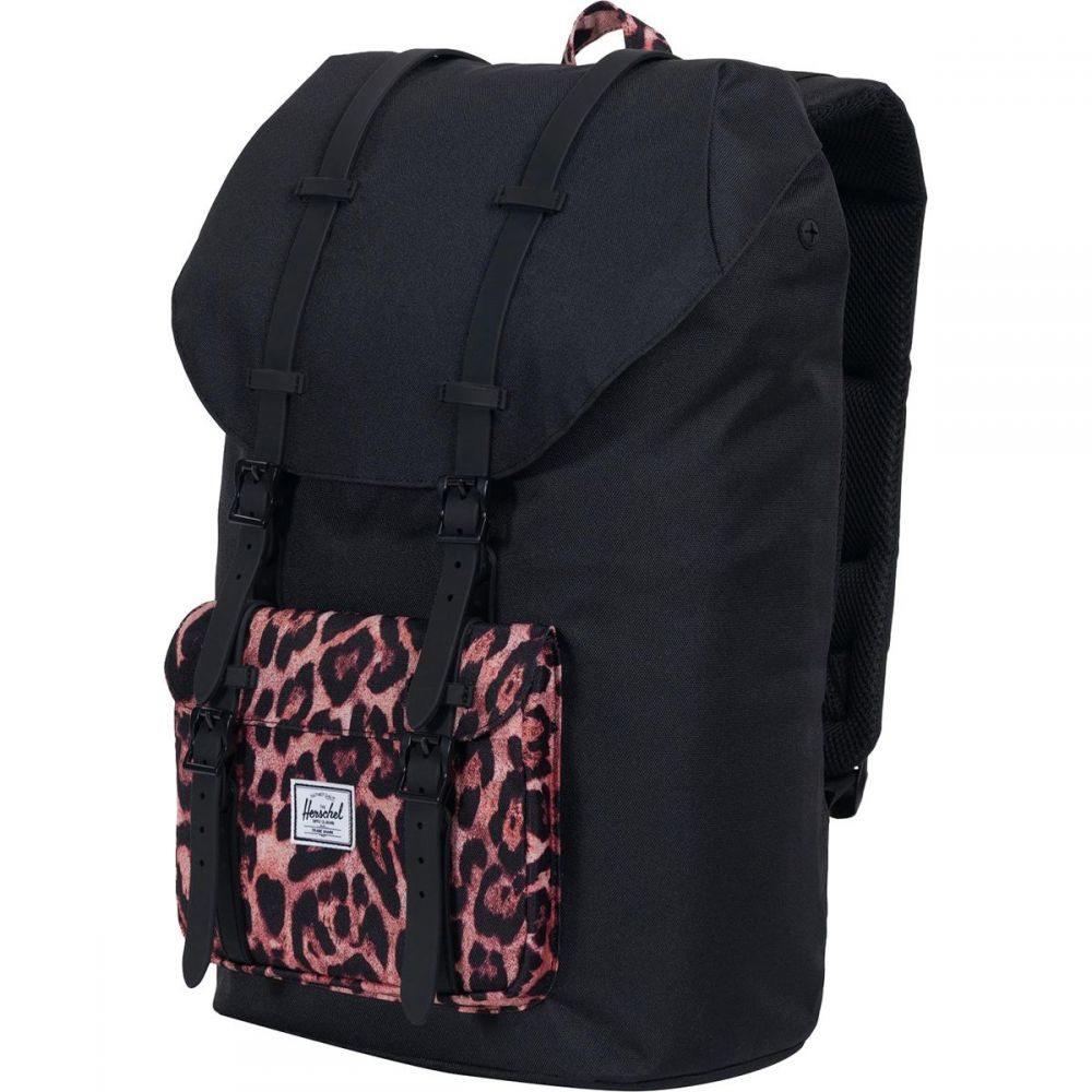 ハーシェル サプライ Herschel Supply レディース バッグ バックパック・リュック【Little America 25L Backpack】Black/Desert Cheetah