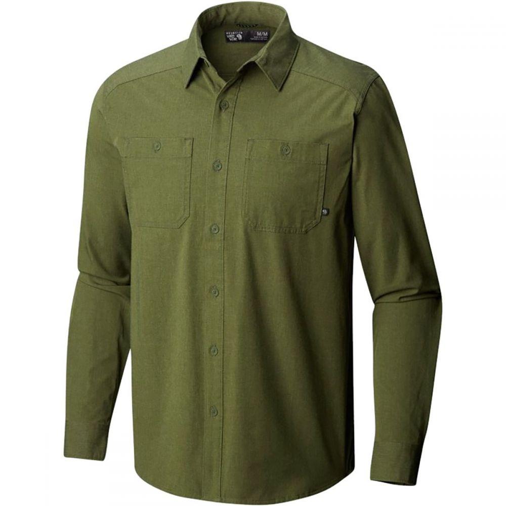 マウンテンハードウェア Mountain Hardwear メンズ トップス シャツ【Riveter Twill Long - Sleeve Shirts】Surplus Green