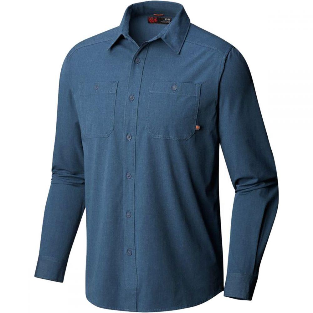 マウンテンハードウェア Mountain Hardwear メンズ トップス シャツ【Riveter Twill Long - Sleeve Shirts】Zinc