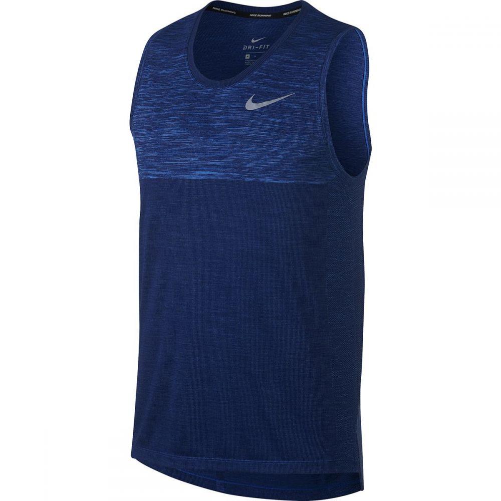ナイキ Nike メンズ トップス タンクトップ【Dri - FIT Medalist Tanks】Signal Blue/Blue Void