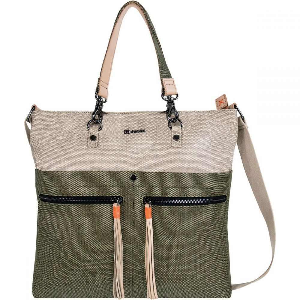 シェルパニ Sherpani レディース バッグ ショルダーバッグ【Faith Handbag/Cross Body Purse】Natural/Moss