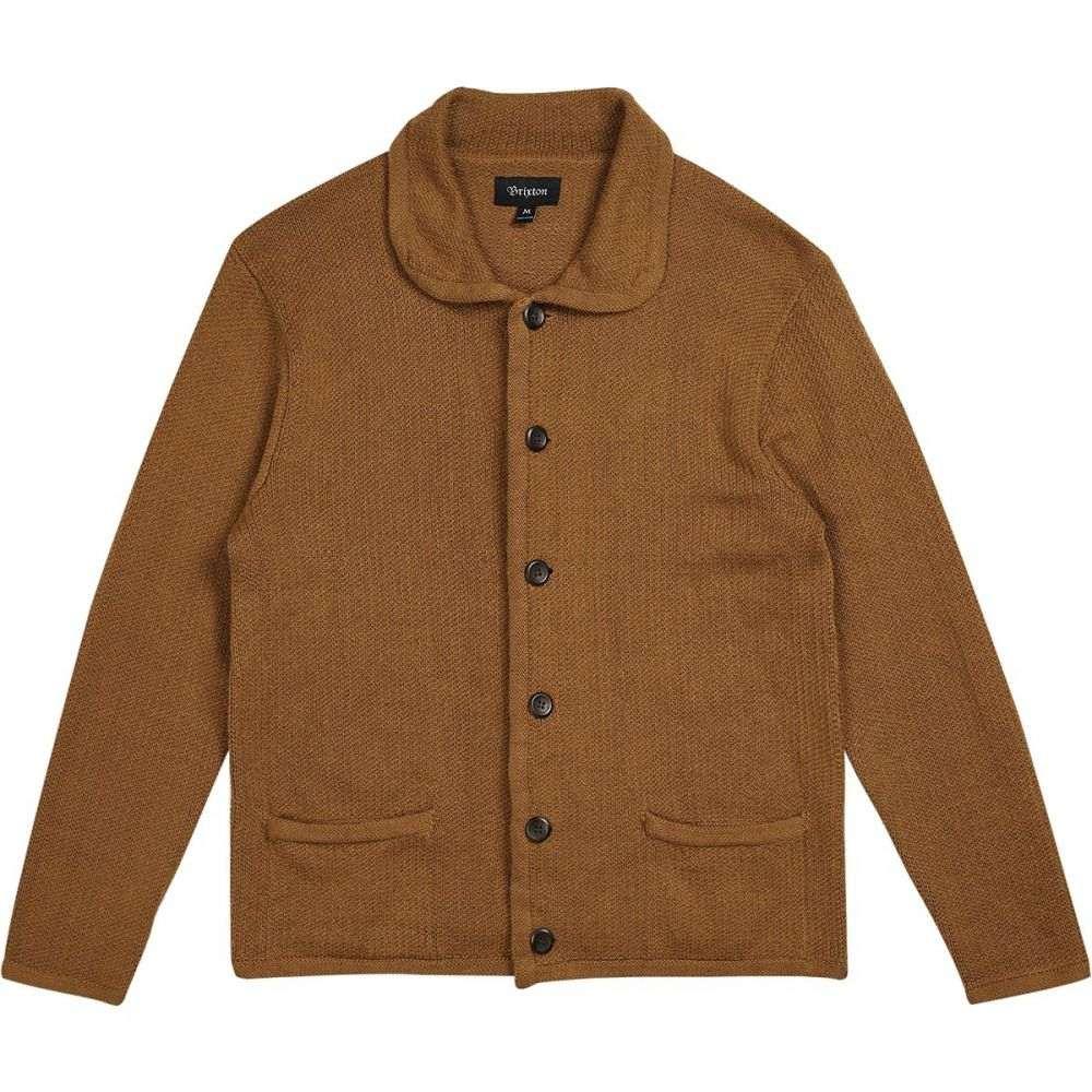ブリクストン Brixton メンズ トップス カーディガン【Powell Cardigans】Copper