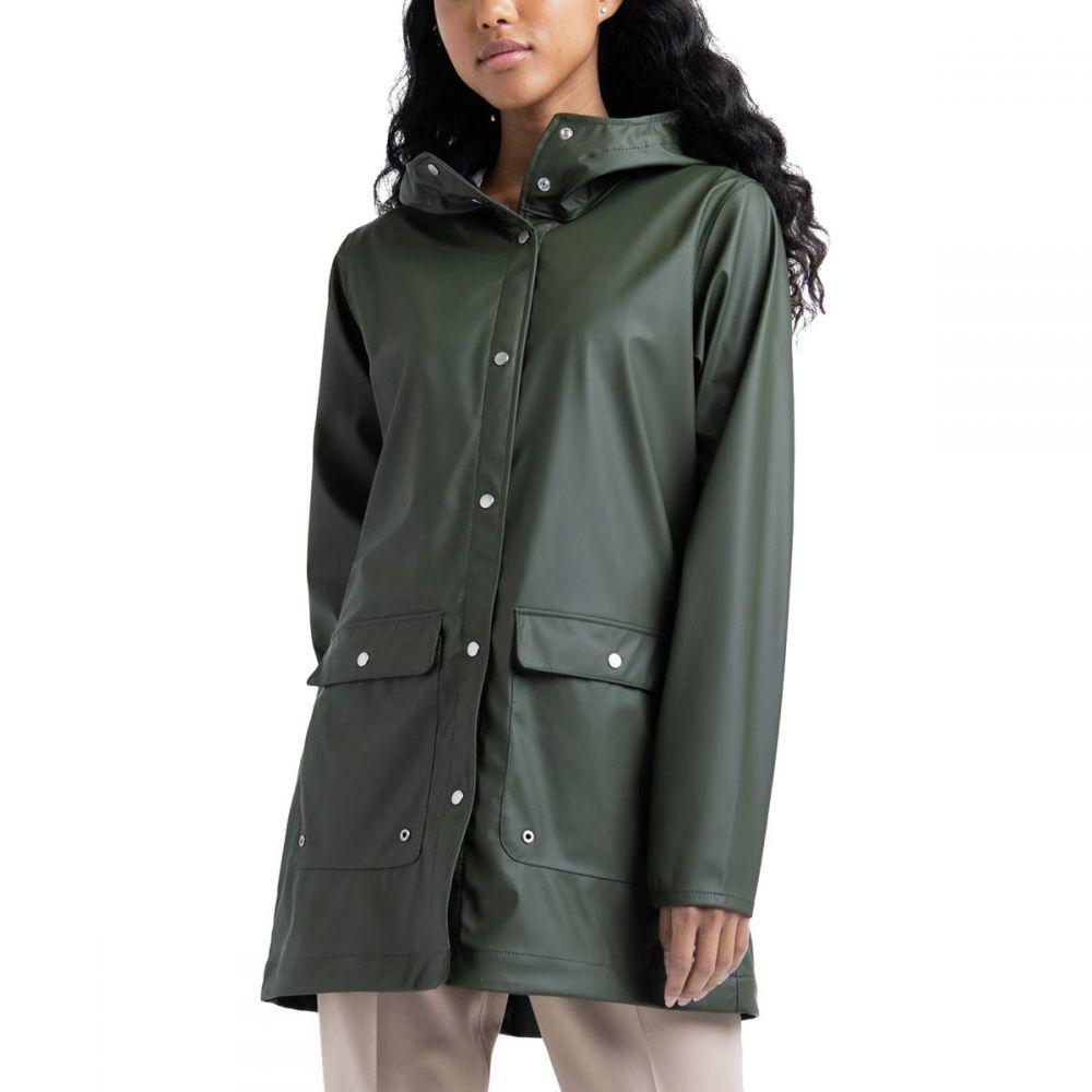 ハーシェル サプライ Herschel Supply レディース アウター レインコート【Rainwear Parka】Dark Olive