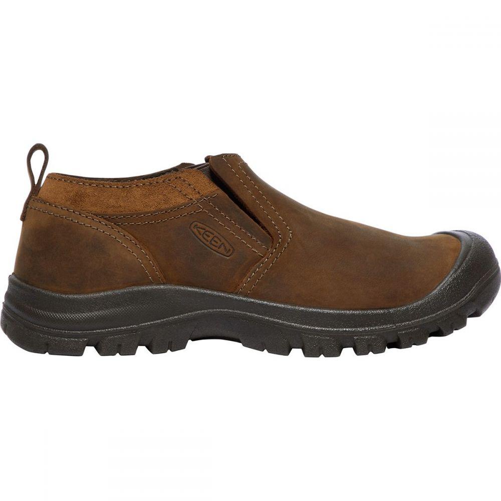 キーン KEEN メンズ シューズ・靴 スリッポン・フラット【Grayson Slip - On Shoes】Mid Brown/Scylum