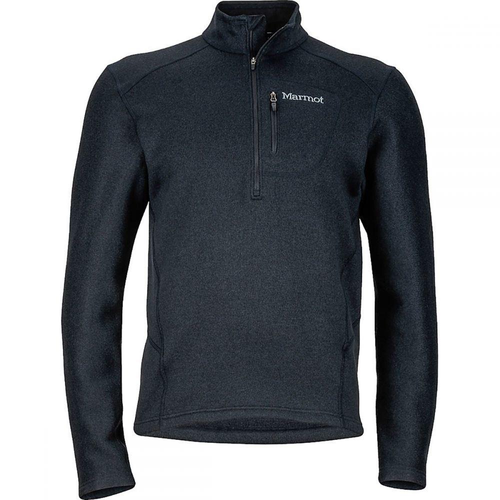 マーモット Marmot メンズ トップス フリース【Drop Line 1/2 - Zip Fleece Jackets】Black