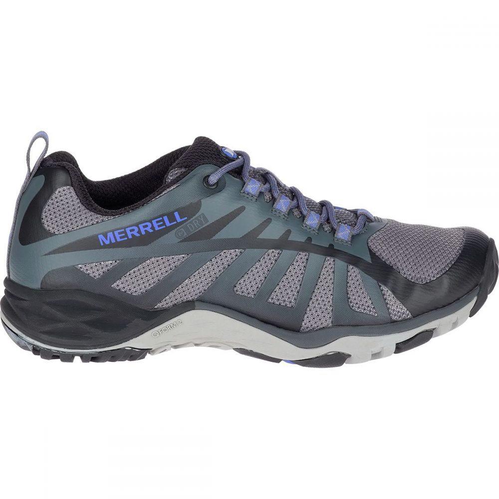 メレル Merrell レディース ハイキング・登山 シューズ・靴【Siren Edge Q2 Waterproof Hiking Shoe】Black