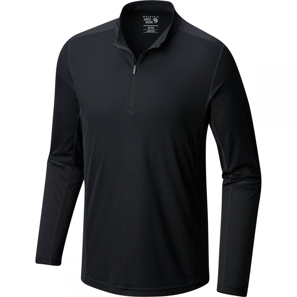 マウンテンハードウェア Mountain Hardwear メンズ トップス【Photon Zip T - Shirts】Stealth Grey