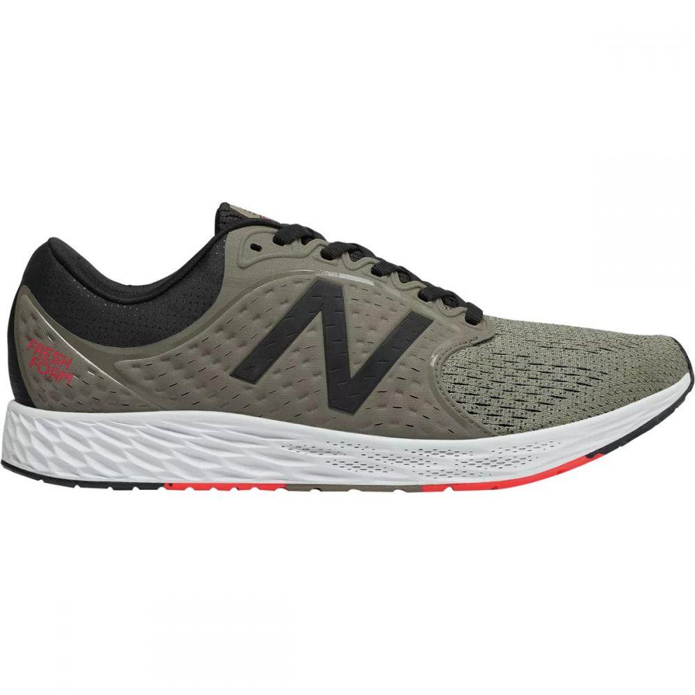 ニューバランス New Balance メンズ ランニング・ウォーキング シューズ・靴【Fresh Foam Zante v4 Running Shoes】Military Urban Grey/Black/Flame