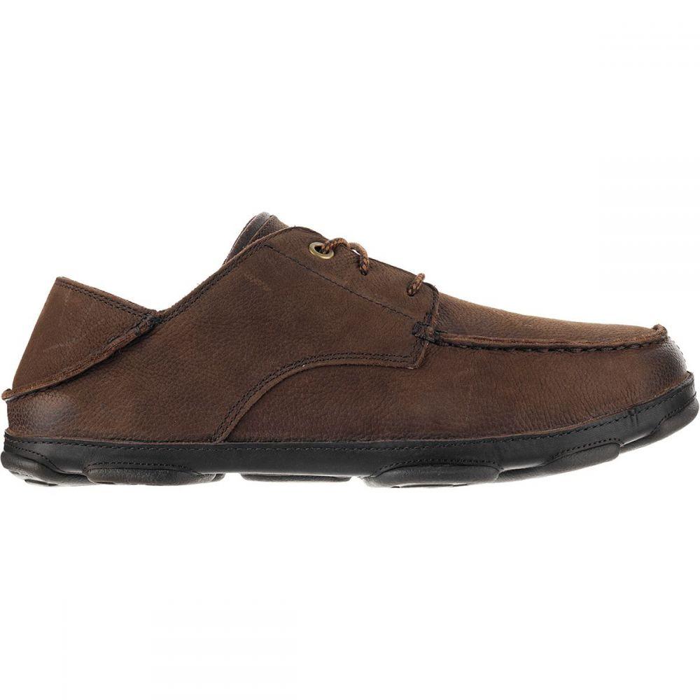 オルカイ Olukai メンズ シューズ・靴【Hamakua Poko Shoes】Dark Wood/Dark Wood