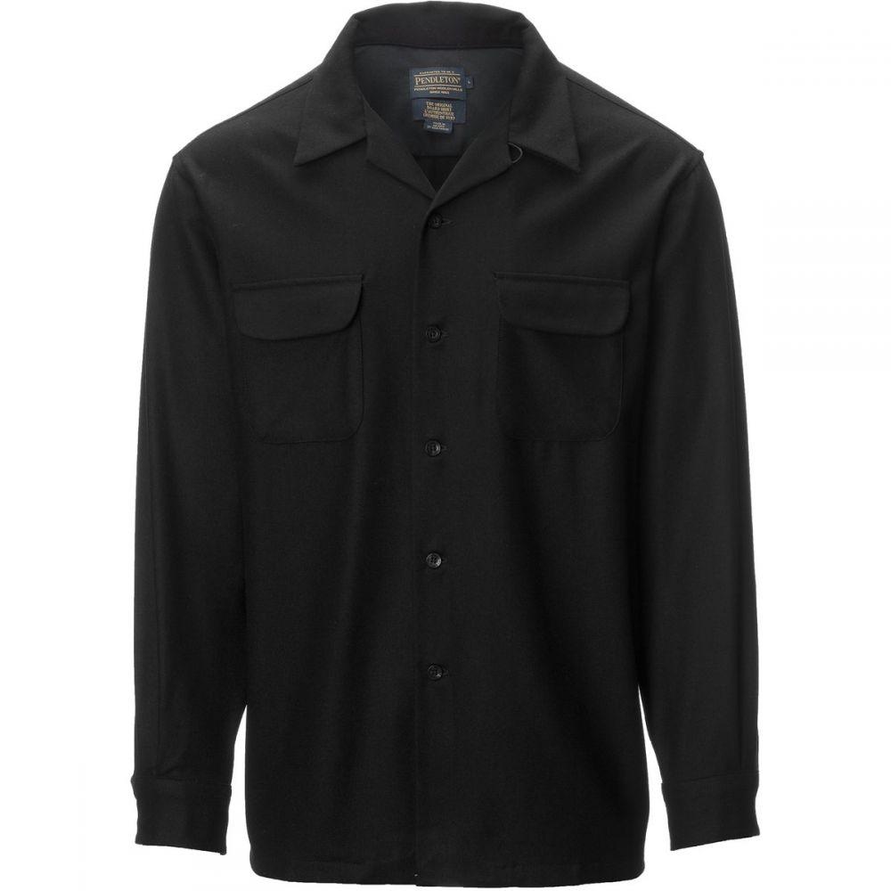 ペンドルトン Pendleton メンズ トップス シャツ【Board Shirts】Black Solid