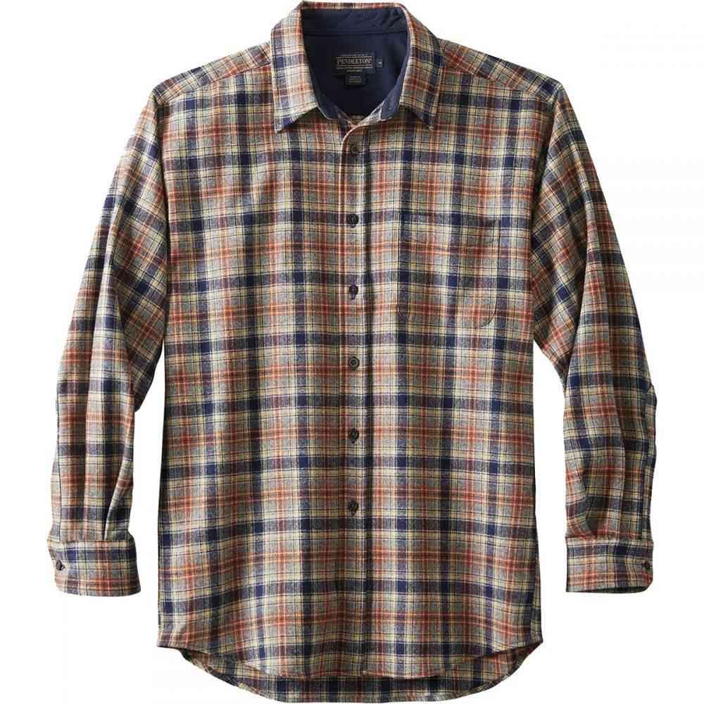 ペンドルトン Pendleton メンズ トップス シャツ【Lodge Shirts】Navy/Brown Plaid