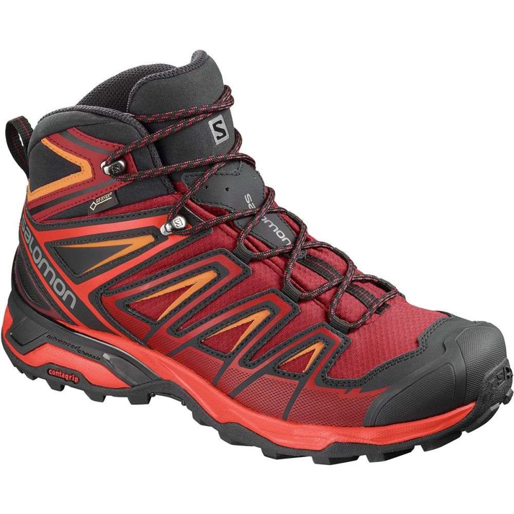 サロモン Salomon メンズ ハイキング・登山 シューズ・靴【X Ultra 3 Mid GTX Hiking Boots】Red Dahlia/Cherry Tomato/Tangelo