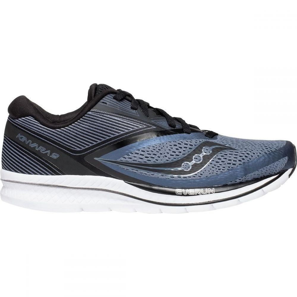 サッカニー Saucony メンズ ランニング・ウォーキング シューズ・靴【Kinvara 9 Running Shoes】Grey/Black