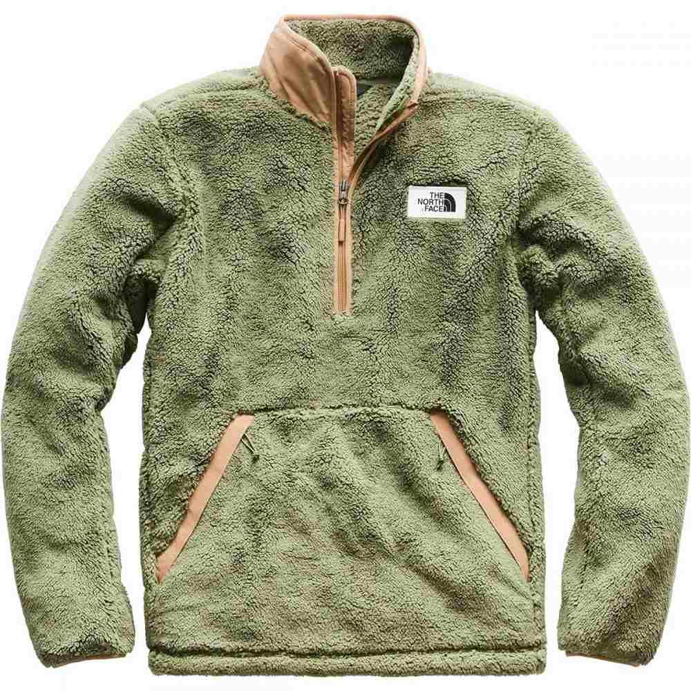 ザ ノースフェイス The North Face メンズ トップス フリース【Campshire Fleece Pullovers】Four Leaf Clover/Cargo Khaki