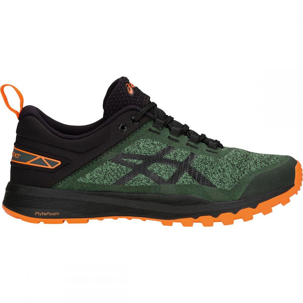 アシックス Asics メンズ ランニング・ウォーキング シューズ・靴【Gecko XT Trail Running Shoes】Cedar Green/Black
