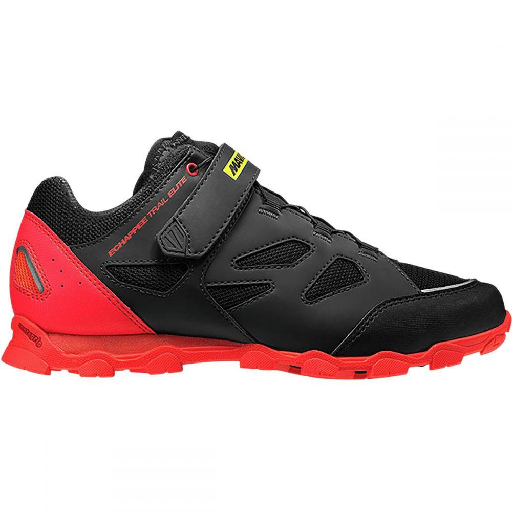 マヴィック Mavic レディース 自転車 シューズ・靴【Echappee Trail Elite Shoe】Pirate Black/Fiery Coral/Black