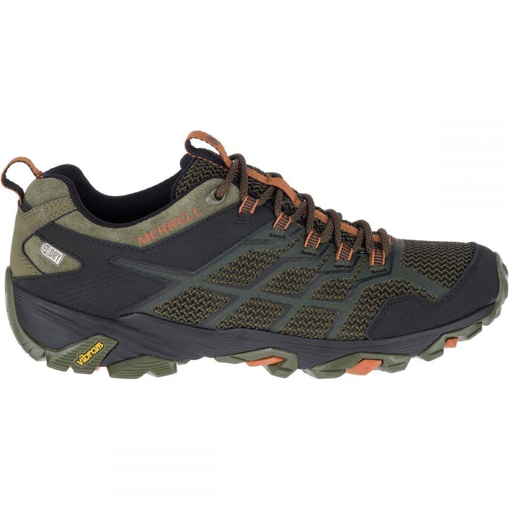 メレル Merrell メンズ ハイキング・登山 シューズ・靴【Moab FST 2 Waterproof Hiking Boots】Olive/Adobe