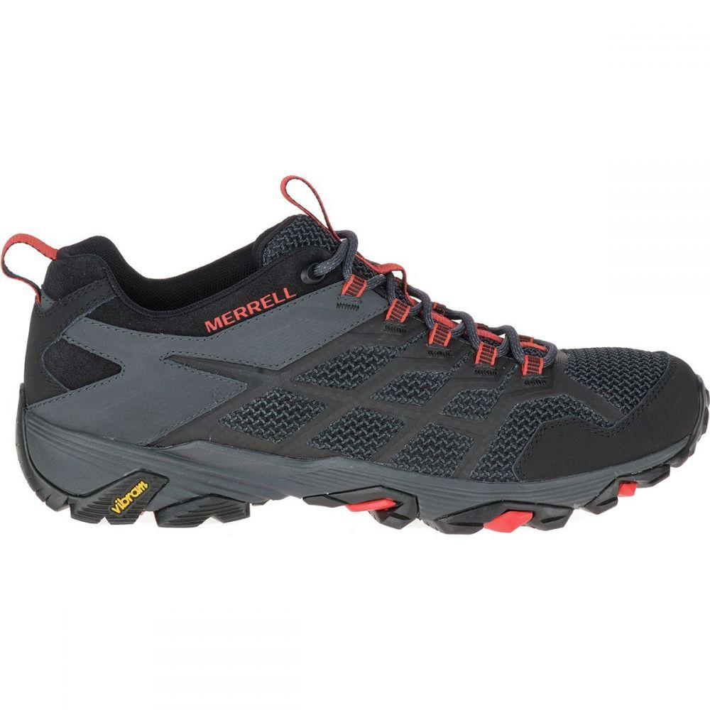 超爆安 メレル Merrell メンズ ハイキング・登山 シューズ・靴【Moab FST 2 Hiking Shoes】Black/Granite, YSカスタム e4dddd29