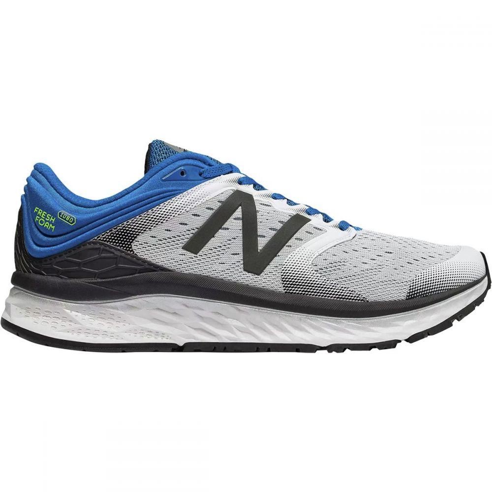 今季一番 ニューバランス New Balance New メンズ メンズ ランニング Blue・ウォーキング シューズ・靴【1080v8 Running Shoes】White/Laser Blue, アリゼ:df9af12c --- supercanaltv.zonalivresh.dominiotemporario.com