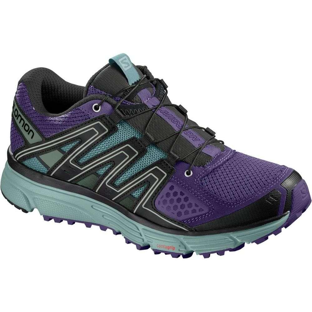 サロモン Salomon レディース ランニング・ウォーキング シューズ・靴【X - Mission 3 Trail Running Shoe】Parachute Purple/Trellis/Black