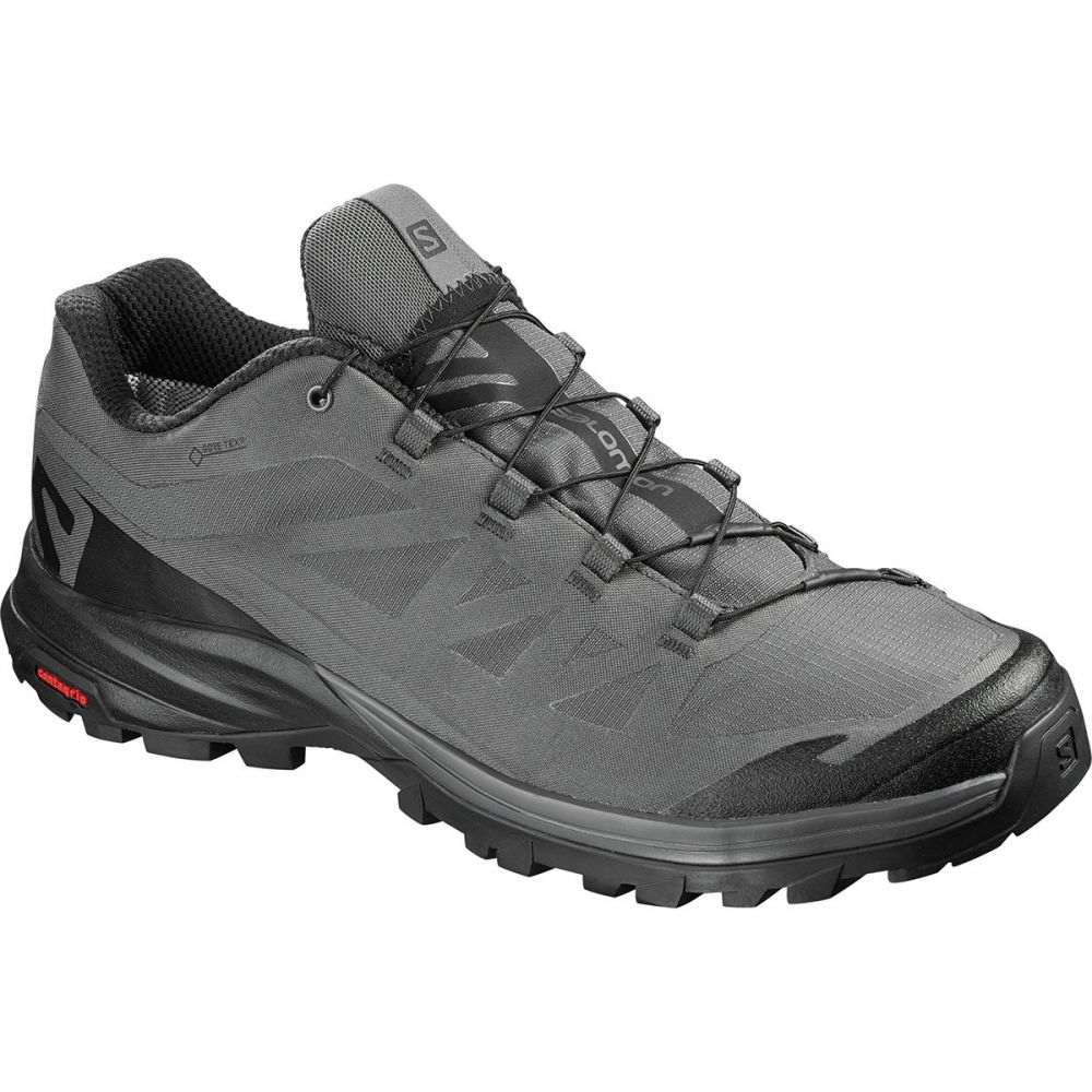 サロモン Salomon メンズ ハイキング・登山 シューズ・靴【Outpath GTX Hiking Shoes】Magnet/Black/Black