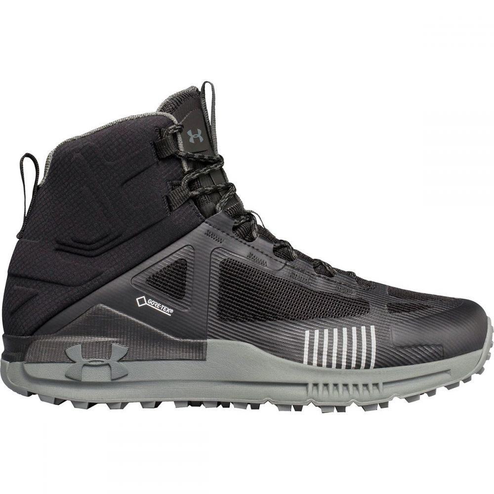 アンダーアーマー Under Armour メンズ ハイキング・登山 シューズ・靴【Verge 2.0 Mid GTX Hiking Boots】Black/Black/Nori Green