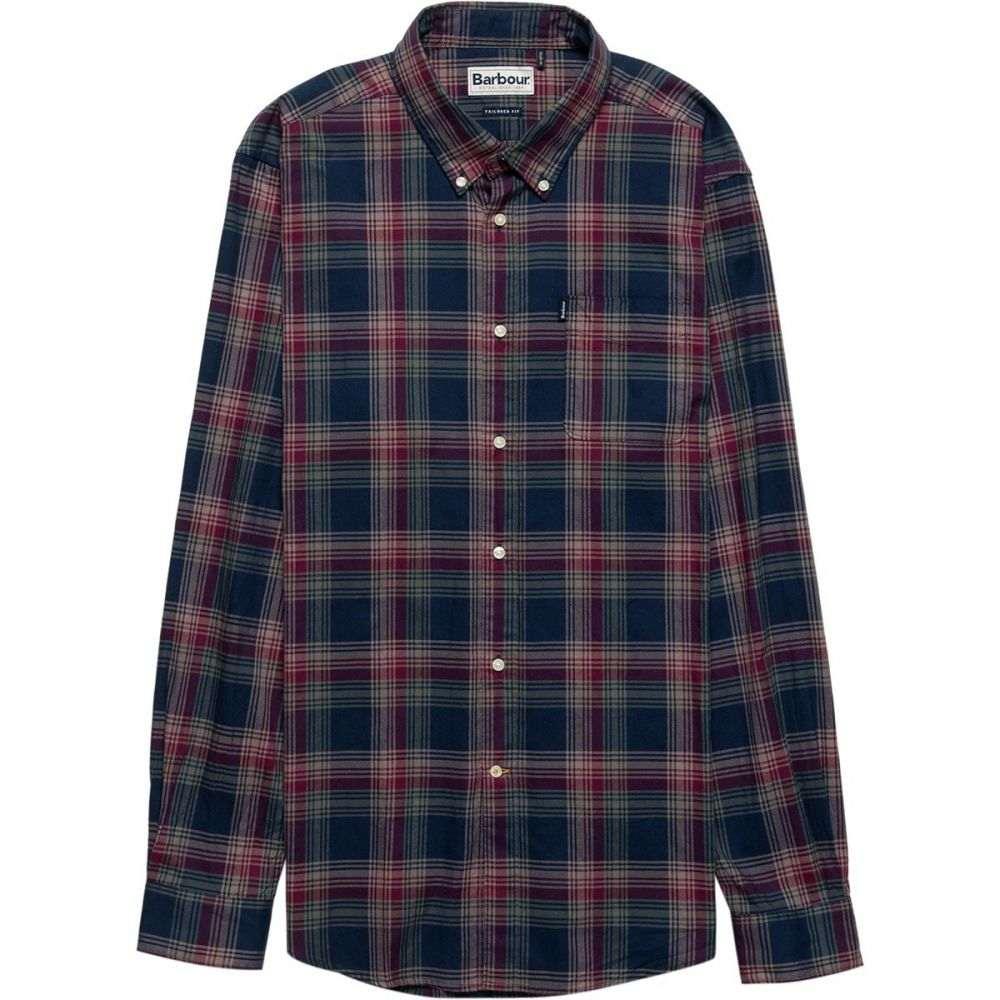 バーブァー Barbour メンズ トップス シャツ【Endsleigh Highland Check Button - Down Shirts】Navy