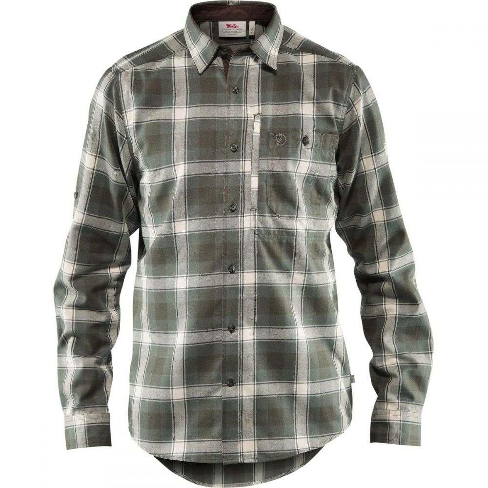 フェールラーベン Fjallraven メンズ トップス シャツ【Fjallglim Flannel Shirts】Thunder Grey