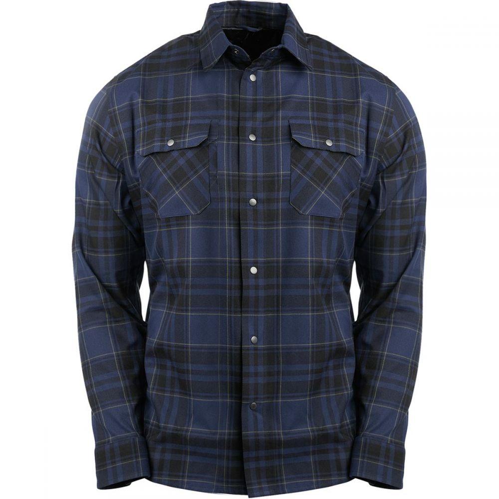 フライロウ Flylow メンズ トップス シャツ【Handlebar Tech Flannel Shirt - Long - Sleeves】Pluto/Black/Seaweed