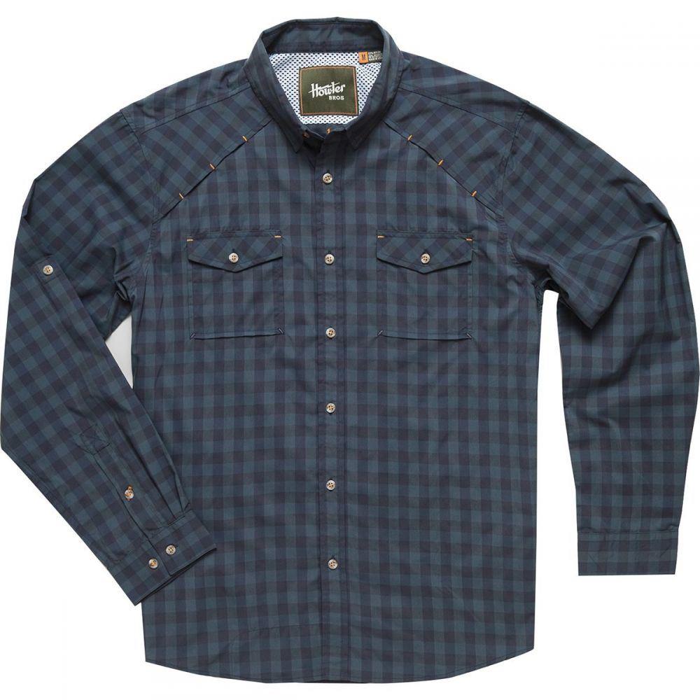 ホウラーブラザーズ Howler Brothers メンズ トップス シャツ【Firstlight Tech Button - Down Shirts】Holden Plaid/Tonoche Navy