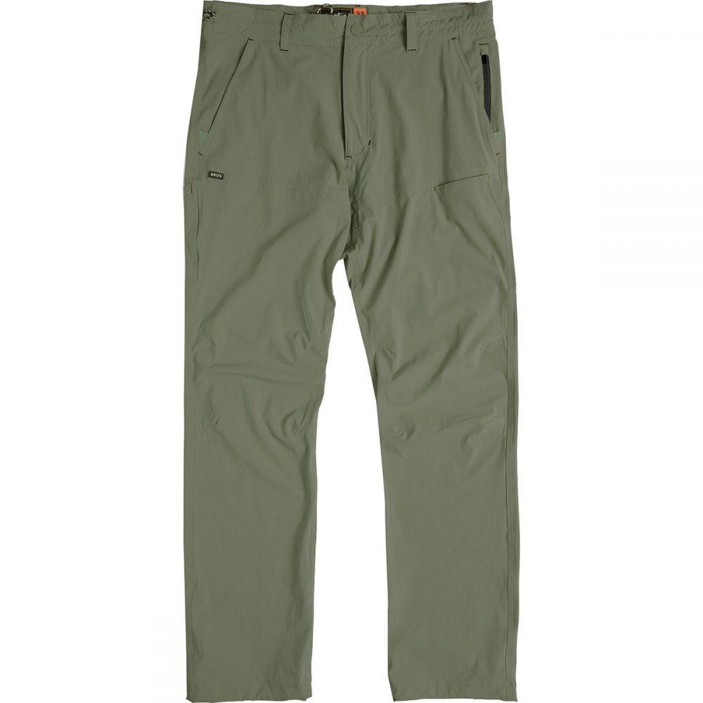 ホウラーブラザーズ Howler Brothers メンズ ハイキング・登山 ボトムス・パンツ【Shoalwater Tech Pants】Battle Green