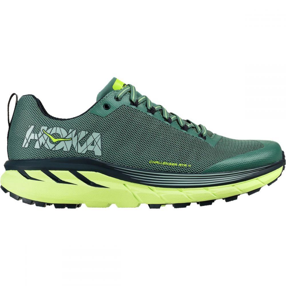 ホカ オネオネ Hoka One Green One One メンズ ランニング オネオネ・ウォーキング シューズ・靴【Challenger ATR 4 Running Shoes】Silver Pine/Chinois Green, ミュゼデュ:3952183a --- jpworks.be