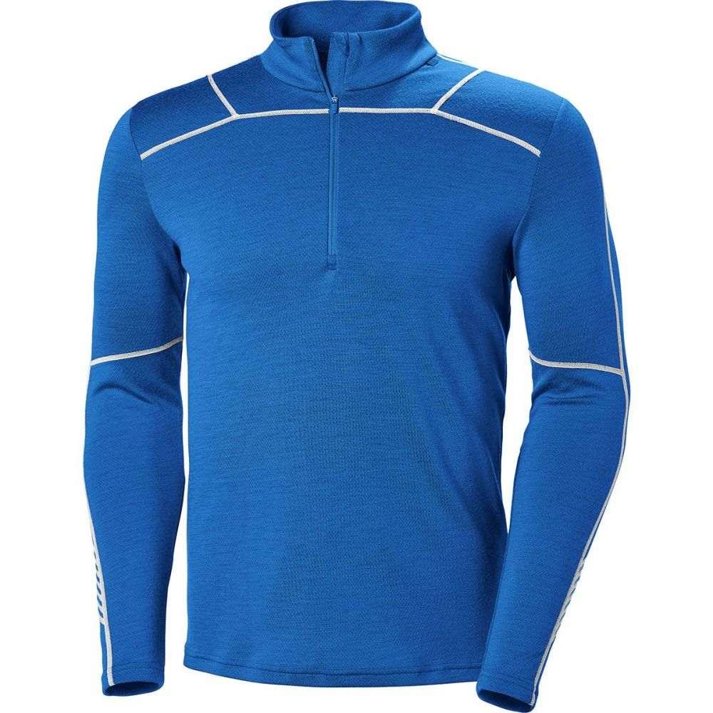 ヘリーハンセン Helly Hansen メンズ トップス【Lifa Merino 1/2 Zip Shirts】Olympian Blue